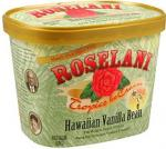 Roselani Tropics Ice Cream Hawaiian Vanilla Bean