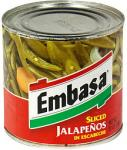 Condiments Jalapenos Sliced in Escabeche